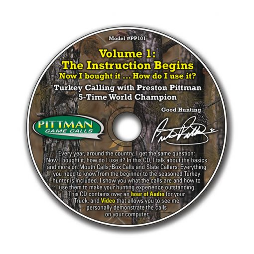 Volume 1: The Instruction Begins CD